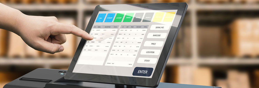 logiciel de caisse enregistreuse